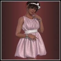 Dynamics 17 for Dawn - Puffball Dress