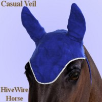 Casual Veil for the HiveWire Horse