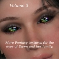 ML Fantasy Eyes Vol 3 for Dawn, Dusk & Baby Luna