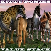 Kitty Ponies for the HW Horse Value Stack