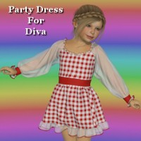 Dynamic Party Dress for Diva