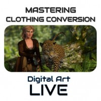 Mastering Clothing Conversion Between DS and Poser
