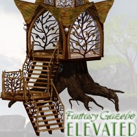 Fantasy Gazebo Elevated