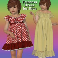 Dynamic Princess Dress for Diva