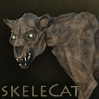 SkeleCat for the HiveWire Big Cat