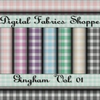 Digital Fabric Shoppe - Gingham Vol 01