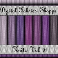 Digital Fabric Shoppe - Knits Vol 01