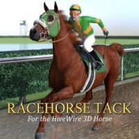 Racehorse Tack for the HiveWire Horse
