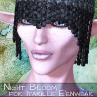 Night Bloom for Itarille E'enwear