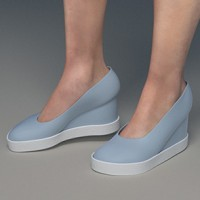 Casual Anabela Shoes for Dawn