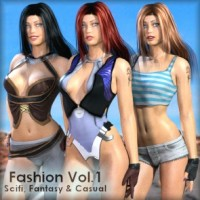 Fashion Vol. 1 - Casual, Fantasy & SciFi