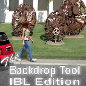 The Backdrop Tool: IBL Edition