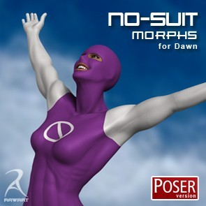 The No-Suit Morphs (Poser)