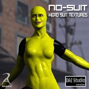 The No-Suit Latex Hero Textures (DS)