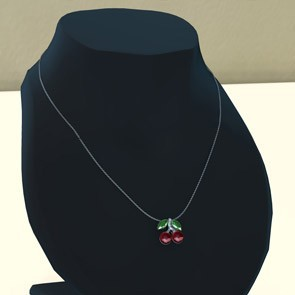 Simplicity for Dawn - Cherry Necklace (Poser)