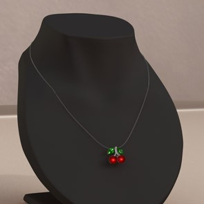 Simplicity for Dawn - Cherry Necklace (DS)
