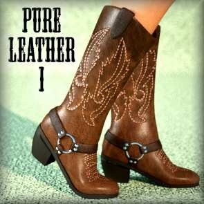 Pure Leather Expansion Pack I - Embroidered (Poser)