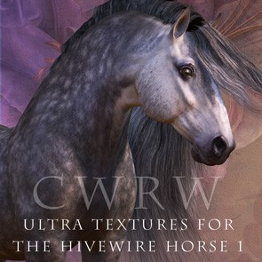 CWRW Ultra Textures for the HiveWire Horse Pack 1