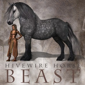 HiveWire Beast Horse - A HiveWire 3D Creation
