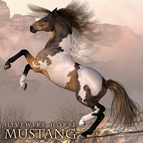 HiveWire Horse - Mustang