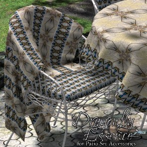 Dragonfly Essence for Patio Set Accessories
