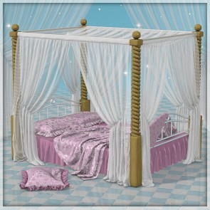 Drapery - The Bed