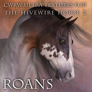 CWRW Ultra Textures for the HW Horse Pack 2 Mini-Set - Roans