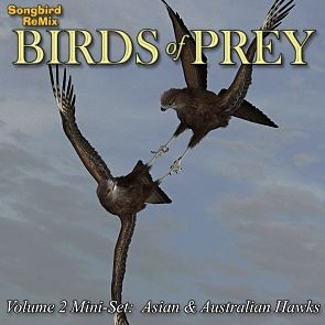 Songbird ReMix Birds of Prey Vol 2 Mini-Set - Asian & Australian Hawks