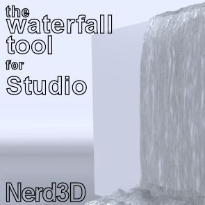 Waterfall Tool - DAZ Studio