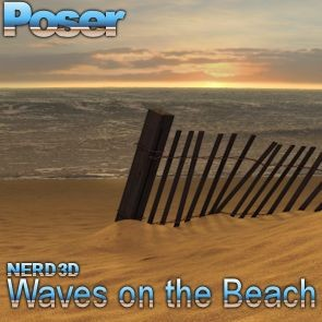 Waves on the Beach - Poser