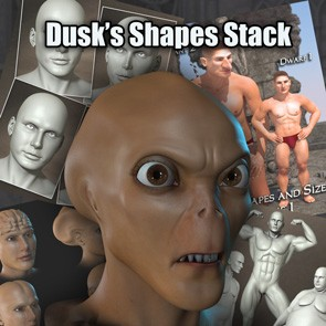 Dusk's Shapes Stack