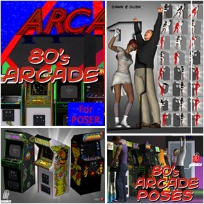 80's Arcade Value Stack - Poser