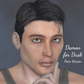 FL Damon for Dusk - Poser