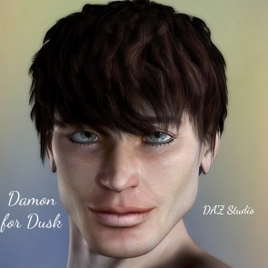 FL Damon for Dusk - DAZ Studio