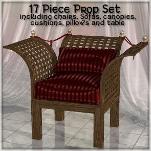 Trellis Furniture Prop Set
