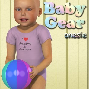 Baby Gear - Onesie for Baby Luna