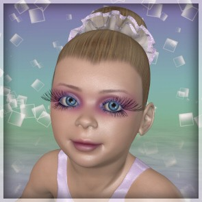 Sugar Plum for Baby Luna - Character and Second Skin