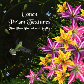 Conch Prism Textures for LB Daylily