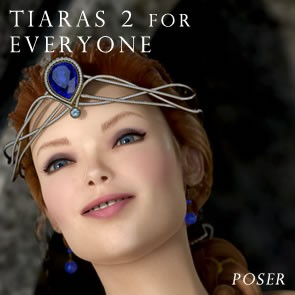 Tiaras 2 for Everyone - Poser