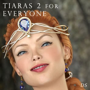 Tiaras 2 for Everyone - DAZ Studio