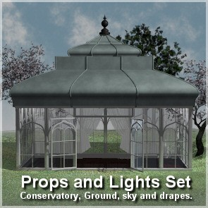 The Conservatory Prop Set