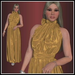 Dynamics 19 for Dawn - Necktie Dress