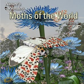 Nature's Wonder Moths of the World Vol. 2