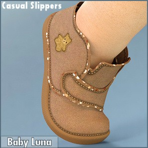 Casual Slippers for Baby Luna