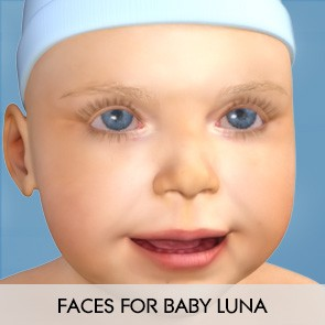 Faces for Baby Luna