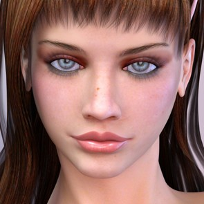 Monica for Dawn - DAZ Studio