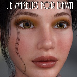 Lully's LIE Makeups for Dawn