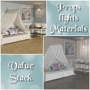 Daybed Prop Set Value Stack