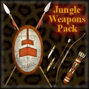 Jungle Weapons Pack