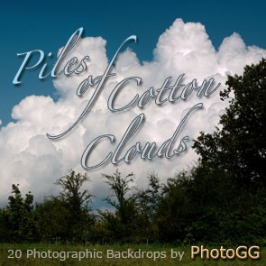 Piles of Cotton Clouds